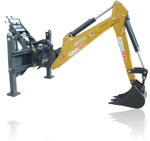 PowerAttachments sideshift backhoe