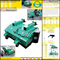 Industrial sweeper brochure