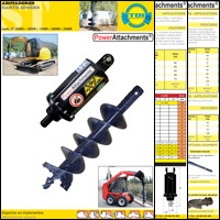 Earth auger brochure