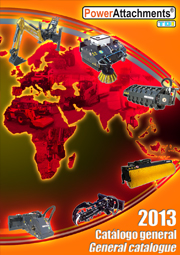 2013 PowerAttachments general catalogue