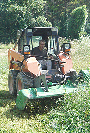 Flail mower index image